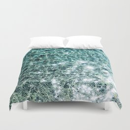 Seaside marble Duvet Cover