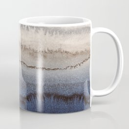 WITHIN THE TIDES WINTER BLUES by Monika Strigel Coffee Mug