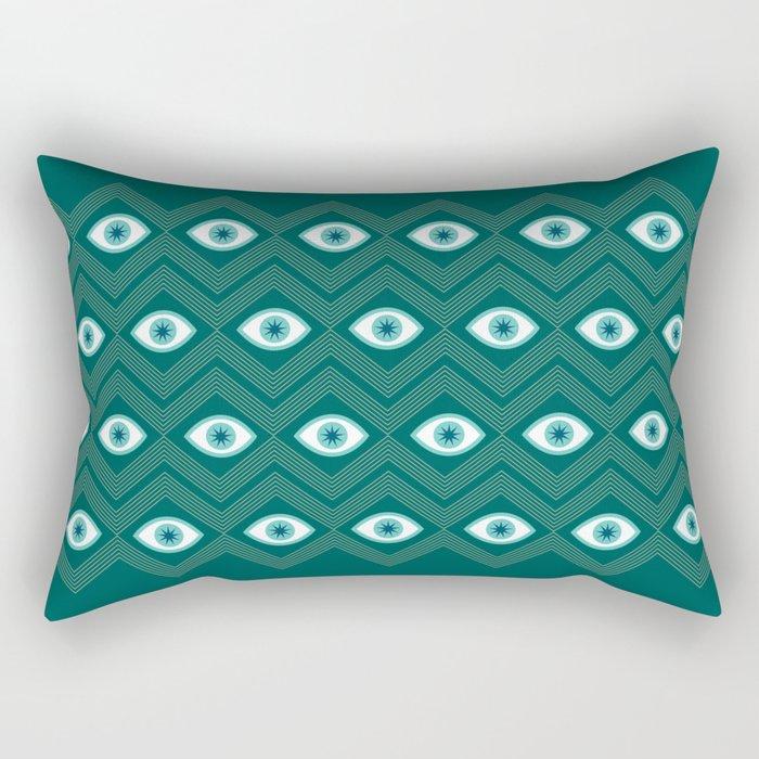 diamond eye Rectangular Pillow
