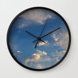 Something In The Clouds I Wall Clock