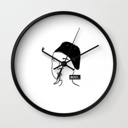 How to grow your tongue Wall Clock