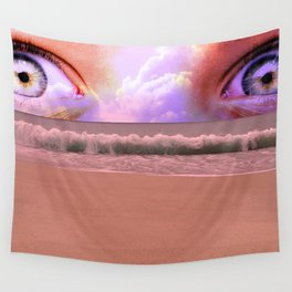 water eyes Wall Tapestry