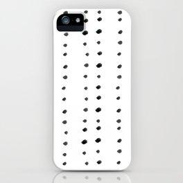 Modern boho dot iPhone Case