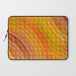 Pattern orange Laptop Sleeve