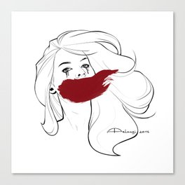 Invisible Monsters Canvas Print