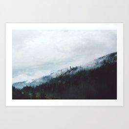 Vancouver Fog II Art Print
