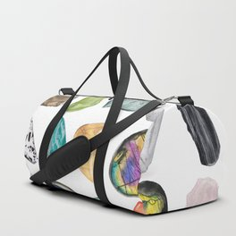 Illuminated Structure: Mineral Party 2 Duffle Bag