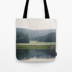 Horses in the Great Smoky Mountains Tote Bag