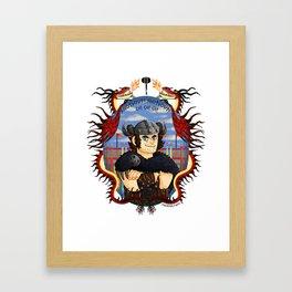 Snotlout Jorgenson Framed Art Print