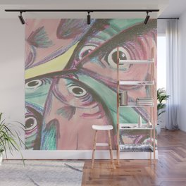 Tropical sardines Wall Mural