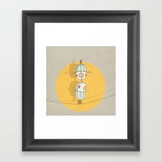 circus 003 Framed Art Print