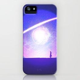 // meridian.01 iPhone Case