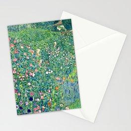 Gustav Klimt Summer Garden  Stationery Cards
