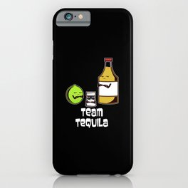 Cocktail Life happens. Tequila helps iPhone Case