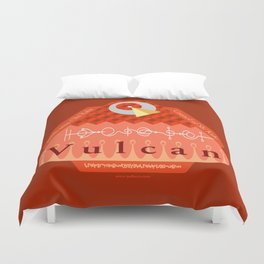 Welcome to Vulcan Duvet Cover