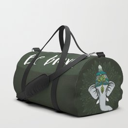 Be Brave, Be Strong Like an Elephant Duffle Bag