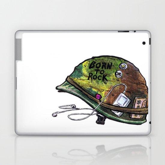 """Born to Rock"" by Cap Blackard Laptop & iPad Skin"