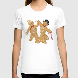 Gingerbread Family Winter Fun T-shirt