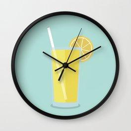 Cup of Lemons Wall Clock