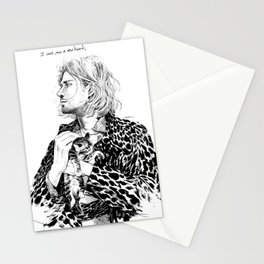 I cant grow a new heart Stationery Cards