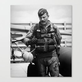 Colonel Robin Olds Canvas Print