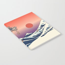 The Great Wave of Dachshunds Notebook