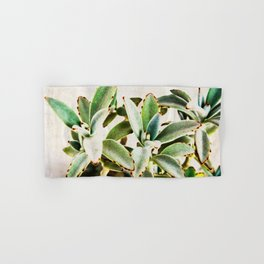cactus leaves Hand & Bath Towel