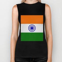india flag Biker Tank