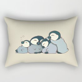 Pile of penguins Rectangular Pillow