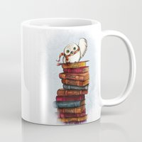 hedwig Mugs featuring Hedwig by Sam Skyler