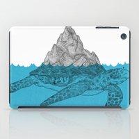 turtle iPad Cases featuring Turtle by David Penela