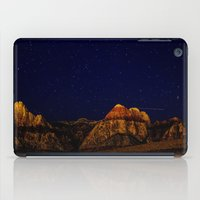 night sky iPad Cases featuring night sky by haroulita