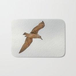 Seagull bird flying Bath Mat