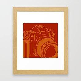 Camera Lines Framed Art Print