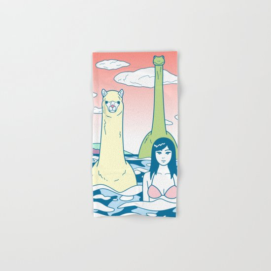 Animals & Sea Hand & Bath Towel