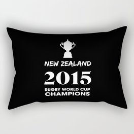 New Zealand 2015 Rugby World Cup Champions Rectangular Pillow