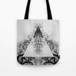 Pyramid of dry Tree Tote Bag