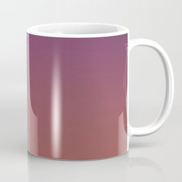 MIDNIGHT GLOW - Minimal Plain Soft Mood Color Blend Prints Coffee Mug