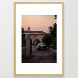 kefalonia @ sunrise Framed Art Print
