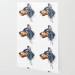 Doberman Head Wallpaper
