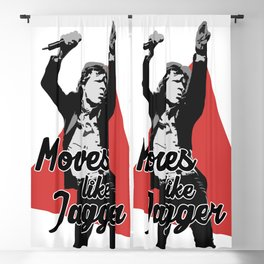 Moves like Jagger Blackout Curtain