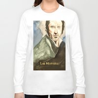 les mis Long Sleeve T-shirts featuring Les Mis by Paxelart