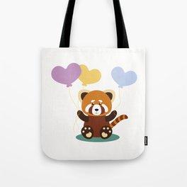 Lovely Red Panda Tote Bag