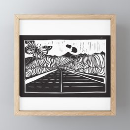 Etna by Laura Pizzicalaluna Framed Mini Art Print