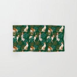 Tropical Redtick Coonhounds 2 Hand & Bath Towel