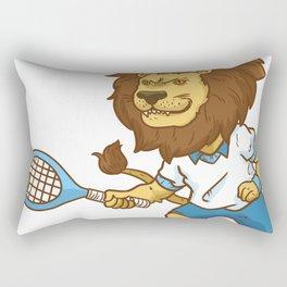 Tennis Funny Gift Sports Game Cool fun humor Rectangular Pillow