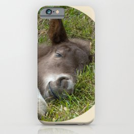 Sleep well iPhone Case