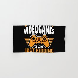 Gamer Gaming Videogame Console Hand & Bath Towel