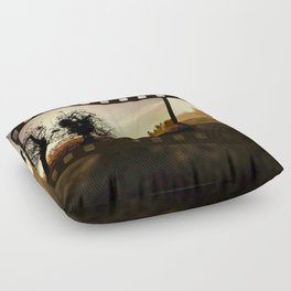 Nature Cinema Floor Pillow