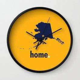 Alaska Proud Wall Clock